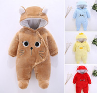 Baby Rompers Winter Baby Boy girls Clothes Cotton Newborn to...