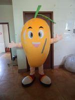 Mango maskot kostymer animerade tema grönsaker frukt cospaly cartoon mascot karaktär halloween karneval part kostym