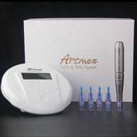 دائم ماكياج الوشم ماكياج الحاجب آلة Artmex V6 العين الحاجب الشفاه الروتاري القلم V6 نظام PMU MTS