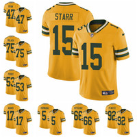 New Arrival. Green Bay Limited football Jersey Packers Gold Rush Vapor  Untouchable 80 Jimmy Graham 12 Aaron Rodgers 23 Jaire Alexander 18 ba8783596