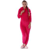 Hiver Chaud Pyjama Femmes Plus La Taille Vêtements De Nuit Femme Fluffy Polaire Pyjamas Ensembles Sommeil Lounge Pyjama À Capuche Pour Femmes Adultes