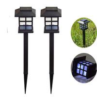 작은 플라스틱 그릴 램프 야외 솔라 잔디 램프에 태양 초 롱 판매