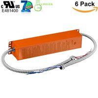 18W 25W LED-lichte noodback-upbatterij 90 min opkomende armatuur voor LED-product (18W 25W max) met interne driverbuizen (6 pack)