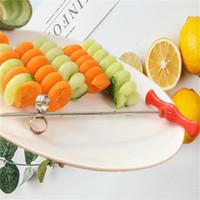 Manual creativo de Acero Inoxidable Tornillo Spiral Slicer Vegetal Pepino Zanahoria Patata Spiral Cutter Herramientas de cocina Accesorios
