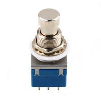 2 PCS di (Guitar Effects 3PDT 9-Pin Latching Stomp Pedal Interruttore a pedale interruttore a pedale blu)