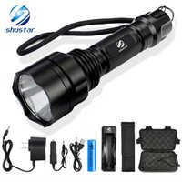 Shustar LED Flashlight XML- T6 L2 Torch 8000Lumens for Riding...