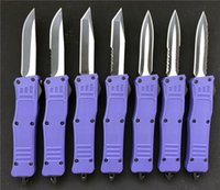 7' ' small 616 D A Combat Troodon Knife Purple EDC ...