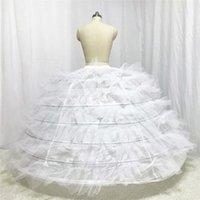Designer Hochzeit Petticoat sieben Schichten mit harten Tüll für Puffy Brautkleid 2018