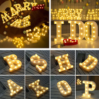 26 Letters LED 3D Light DIY Night Light Kids Gift Marquee Si...