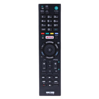 ALLOYSEED TV-Fernbedienung RMT-TX100D Fernersatzsteuerung für SONY TV KD-65x8507c KD-65x8508c KD-65x8509c KD-65x9305c