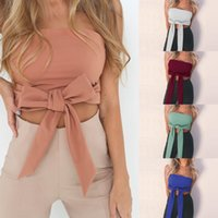 Summer New Fashion Women Solid Bandeau Tank Top sin tirantes Strapless Stretch Hot Women Sexy Tanks