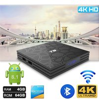 Android 8. 1 tv box T9 RK3328 Quad Core 4GB 64GB 2. 4G Wifi Bl...