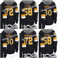 Homens 100 Pittsburgh Penguins Jerseys 87 Sidney Crosby 59 Jake Guentzel 72 Patricia Hornqvist 58 Kris Letang Hoodies Jerseys Camisolas
