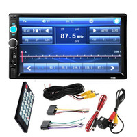 Bluetooth 7-Zoll-Auto-DVD Autoradio MP5 Player Full HD Touchscreen Auto-Stereo FM + Rückansicht Kameras