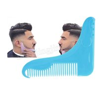 100pcs lot The Beard Shaper Comb Creates Symmtry Beards Keep...
