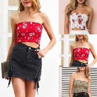New Style Fashion Women Seamless Strapless Tops Summer Casua...