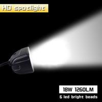 Neue 18 Watt 12 V LED Arbeitslicht Bar Scheinwerfer Flut Lampe Fahren Nebel Offroad LED Arbeit Auto Licht für Ford Toyota SUV 4WD led strahl