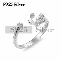 5 Pieces Branch Flower Ring Pearl Mounts Jewelry Findings 92...