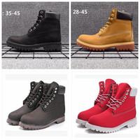 Сапоги Из Натуральной Кожи Мужчины Женщины Снегоступы Повседневная Мартин Сапоги Оптовая Мода Марка Обуви
