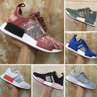 2018 Boost R1 Runner Sequins Womens Knitting Running Shoes R...