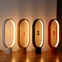 Balance Lamp LED Night Light Indoor Decoration ABS Material ...