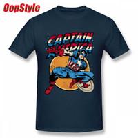 T-shirt vintage da uomo a manica corta in cotone tinta unita personalizzata