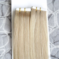 100g Remy Tape Hair Extensions 40pcs lot 10- 26inch Tape Huma...