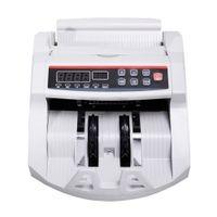 Nueva pantalla LCD Contador de billetes Cuenta de dinero Contador de falsificaciones UV MG Efectivo Banco Detector de alta calidad