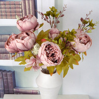 Artificial Peony flower decoration Artificial flower Vintage...