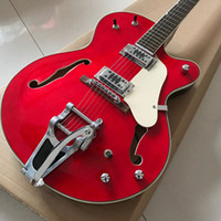 hot selling jazz hollow bodyelectric Guitar in red color wit...