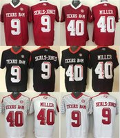 Factory Outlet- NCAA New Texas A M Aggies  9  40 College Football Jersey  stitched  7404aba9c