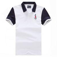 Neue feuchtbare Bestseller Kurzer Polo für Männer Nice Quality Mode-Design Große Größe M L XL XXL 3XL Homme Polo Frankreich Stil Schnelle Lieferung