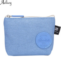 Aelicy Women Wallet Pure color Girl Coin Purse Cute Fashion ...