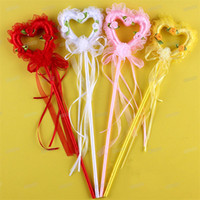 Sweet Kids Princess Girls Heart Magic Sticks Wand Stage Show...