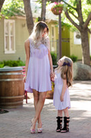 mom and daughter tassel dress 2018 summer mother daughter dr...