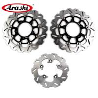 Arashi para Suzuki GSXR 1000 2005 2006 2007 2008 K7 K8 Disco de freno trasero Disco rotores GSXR1000 GSX R GSX-R 600 750