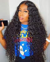 Premier Full Lace / Lace Front Human Hair Wig With Natural Hairline Pre-depened Indian Remy Hair 150% Density Loose Curly For American