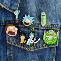 Miss Zoe Rick and Morty Classic Cartoon icons Style Enamel p...