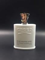 Envío gratis perfumes de Navidad Creed sliver mountain water para hombres 120 ml con buen olor de larga duración