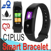 C1 plus Smart Band Color Waterproof Wristband Heart Rate Mon...