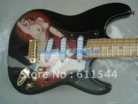 Wholesale New Arrival Playboy Black Solid Electric Guitar Hi...