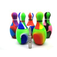silicone bowling Bowl nectar collector oil rig hookah Smokin...