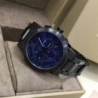 Men' s Swiss Chronograph Gray Ion- Plated Stainless Steel...
