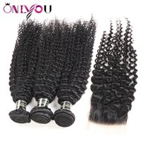 Brazilian Kinky Curly Human Hair Extensions 3 Bundles Kinky ...