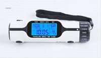 50PCS السفر التوقيت العالمي مجموعة الرقمية LCD الخلفية ساعة منبه مع LED مضيا الشعلة ميزان الحرارة التقويم متعدد الوظائف