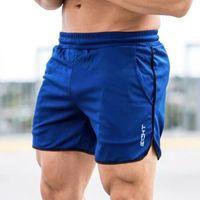 Homens Curta Sexy Verão Corredor Esporte Calças Curtas Homens Fitness Bodybuilding Boxer MTB Sweatpants Masculino Jogging Gym Malha Shorts