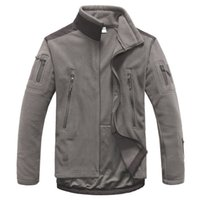 Jacket Tactical Outdoor Soft Shell Fleece Jacket Men Army Sp...