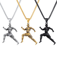 Unisex Stainless Steel Sport Running Men Pendent Necklace Gy...