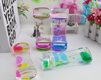 New Creative Floating Double Color Symphony Slim Liquid Oil ...