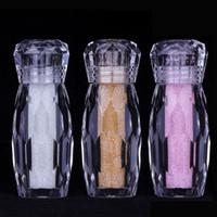 Minuscole perle di cristallo perline Micro strass in vetro colorato Glitter Mini Charm Bead 3D Decorazioni per unghie fai da te